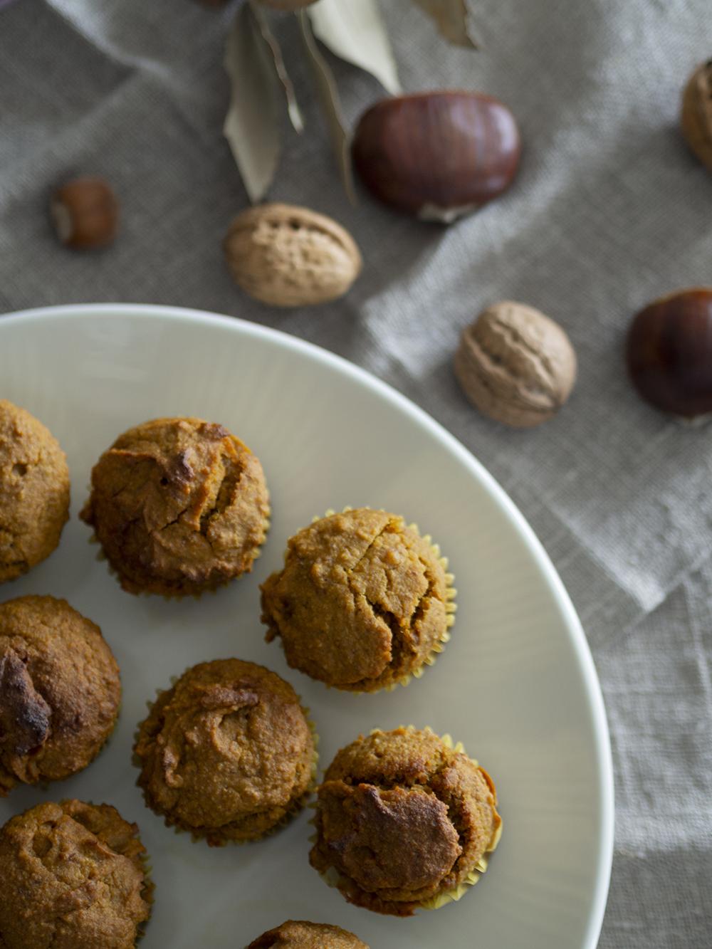 Muffins veganos de calabaza y avena_5