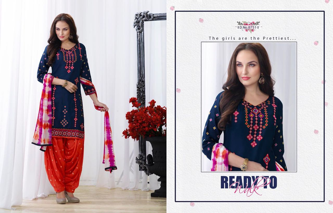 Patiala House Vol 49 – Wholesalers Dress Material Buy Online