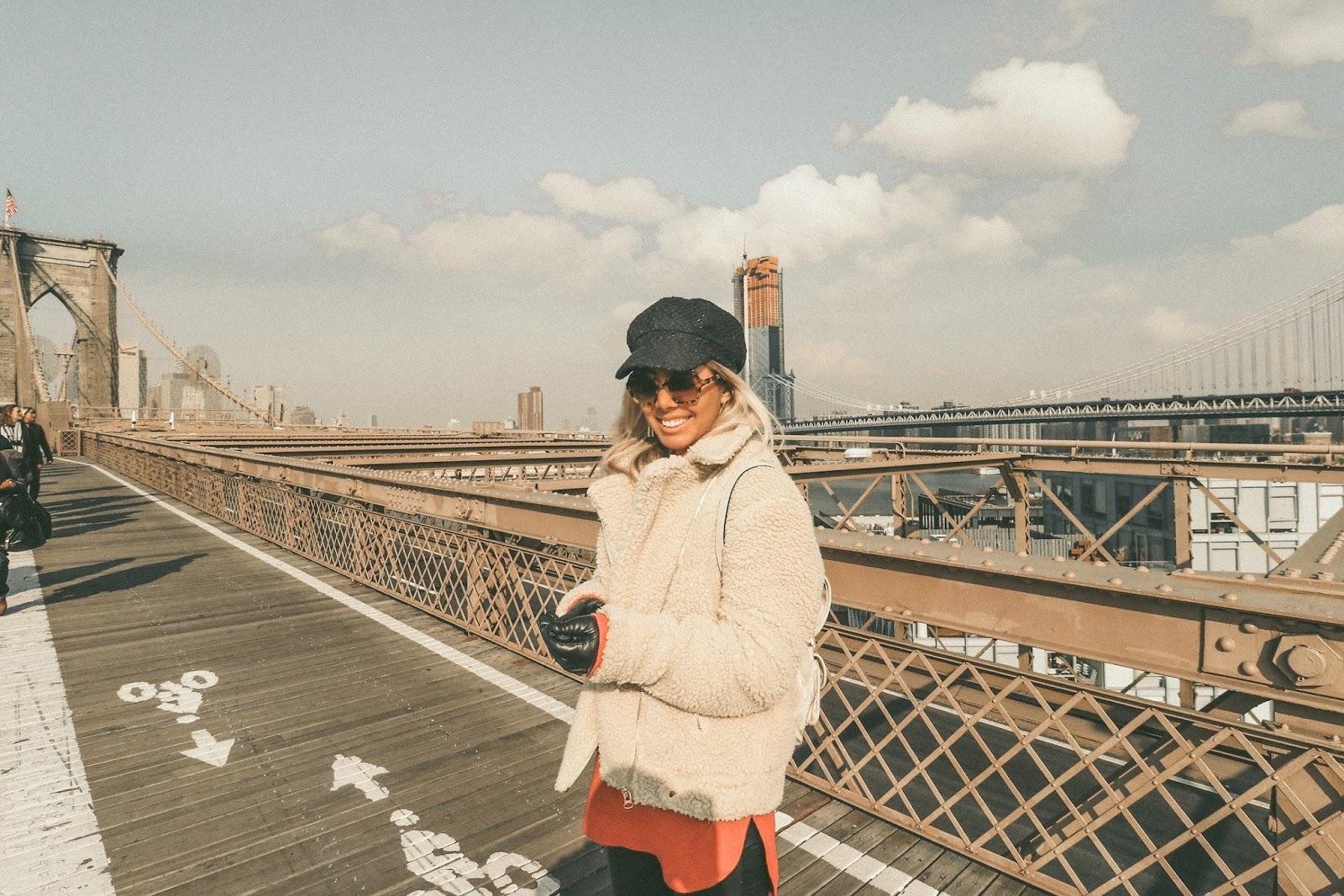 Brooklyn Bridge winter outfit lightroom presets