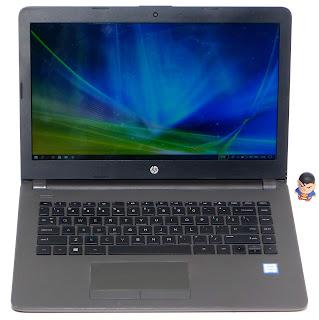 Laptop Hp 240 G6 Core i3 Gen6 DDR4 Second di Malang