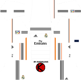 Real Madrid Kits 2013/2014 - Dream League Soccer
