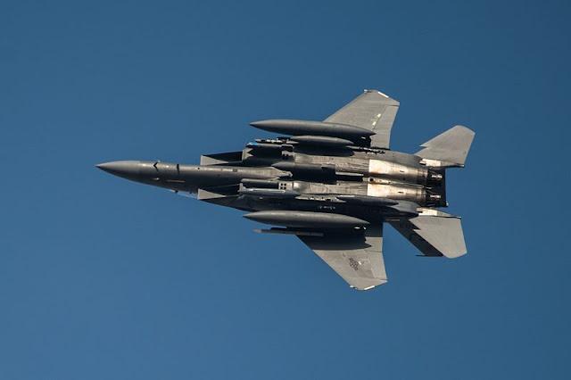 USAF F15 Greece Castle Forge