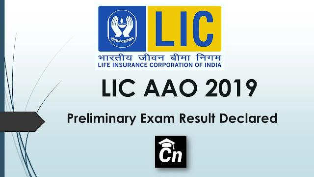 LIC AAO 2019 Preliminary Exam Result Declared, Careerneeti Logo, LIC Logo