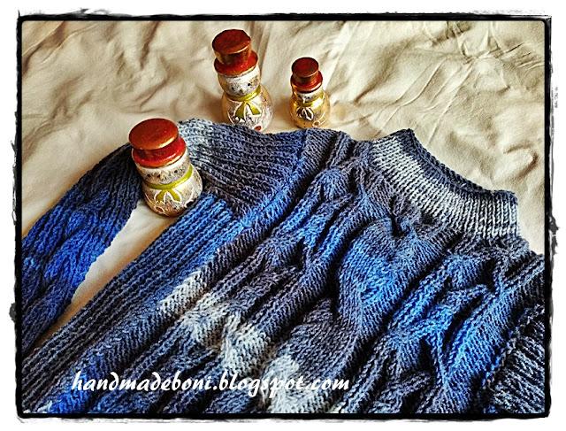 Ciepły sweterek dla wnuka. Zrób razem ze mną :-)