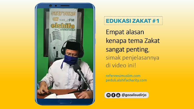Empat alasan kenapa tema Zakat sangat penting!