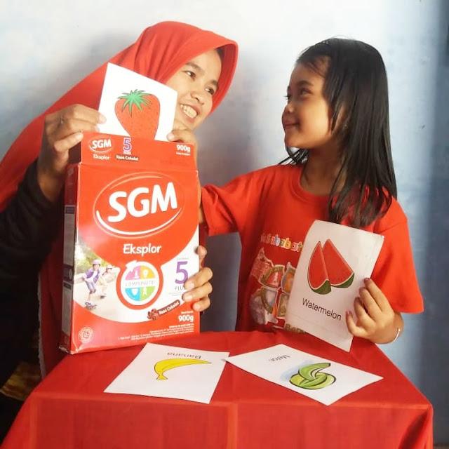 Menjadi Guru Untuk Si Kecil Anak Generasi Maju Di Rumah Bersama Mombassador SGM Eksplor