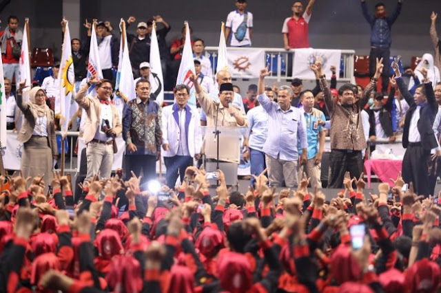 Buruh Bulatkan Tekad Dukung Prabowo