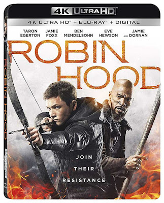 Poster Robin Hood 2018 Dual Audio HD 300Mb