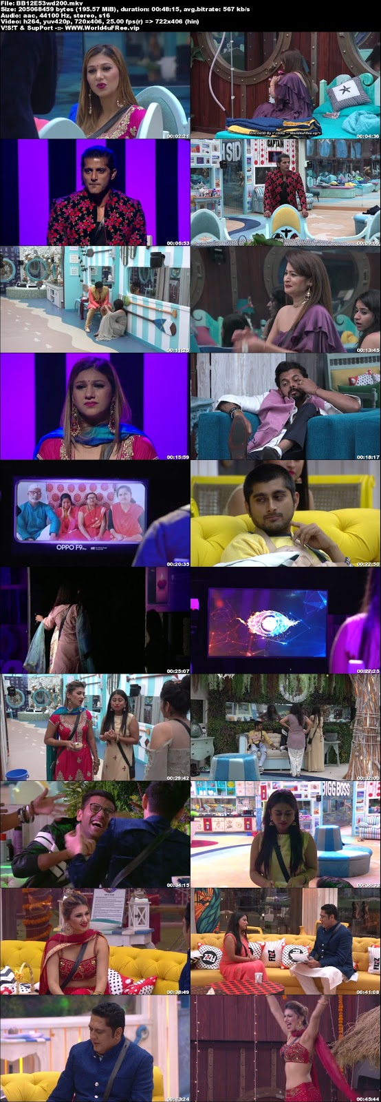 Bigg Boss 12 Episode 53 08 November 2018 WEBRip 480p 200Mb x264 world4ufree.fun tv show Episode 53 08 November 2018 world4ufree.fun 200mb 250mb 300mb compressed small size free download or watch