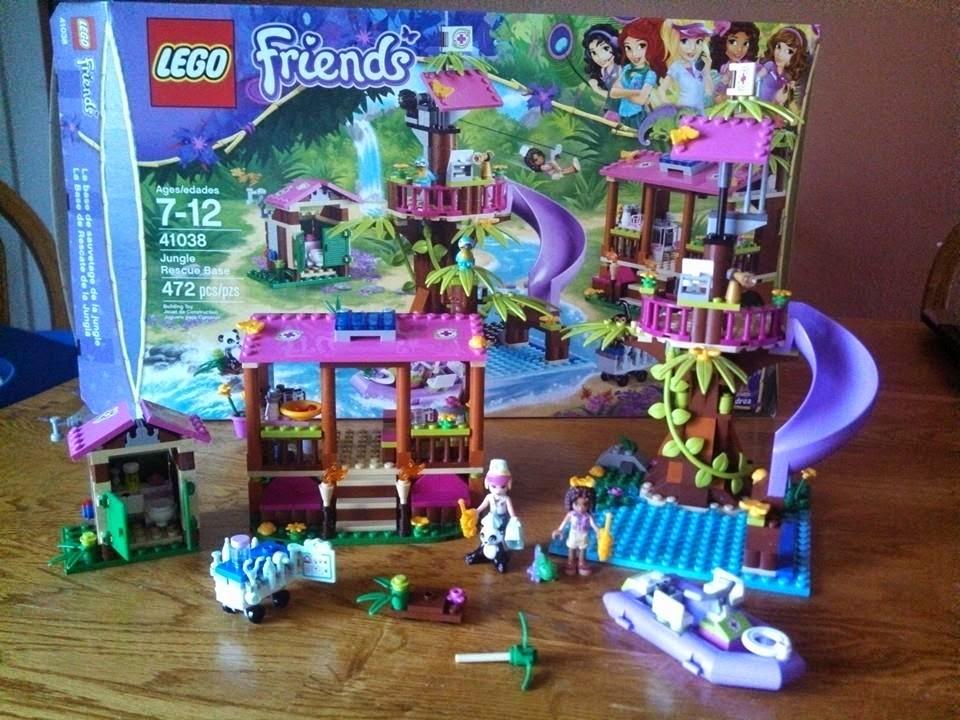 ThemeParkMama: LEGO Friends Jungle Rescue Base 41038 ...
