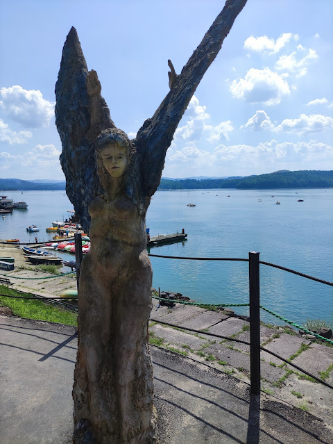 Jezioro Solińskie anioł