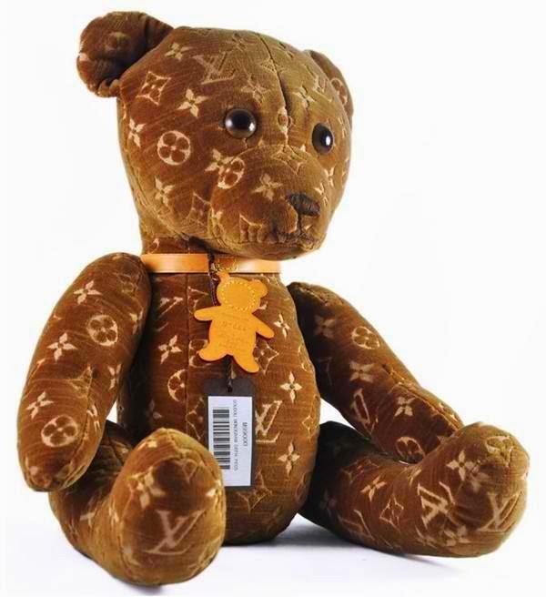 monogrammed teddy bear