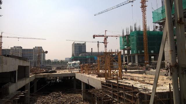 Công trường thi công xây dựng dự án An Bình City