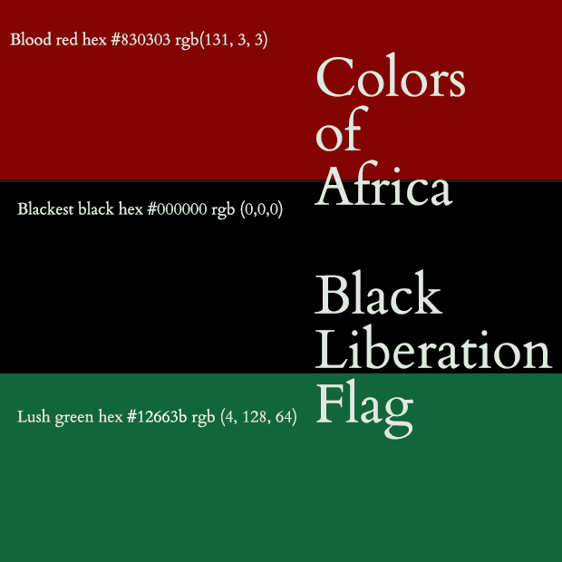 Red Black Green Flag Of Black Liberation History And Meaning Chic