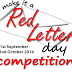 Red Letter Competition Finalists