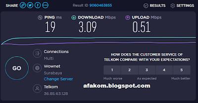 Cara Uji Kecepatan Internet