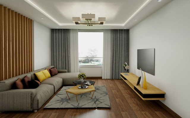 Phòng khách căn hộ chung cư X2 Đại Kim
