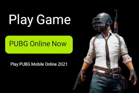 لعبة ببجي اون لاين   play pubg online 2021