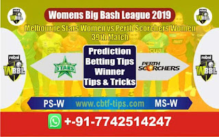 Who will win Today WBBL 2019, 39th Match Perth vs Star, WBBL T20 2019