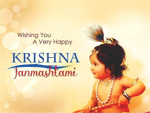 Happy Janmashtami Wishes, Quotes & Images
