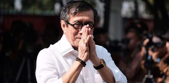 Saat Jelaskan Pasal Penghinaan Presiden, Yasonna Dengan Bercanda Singgung AHY Masih Lama Jadi RI 1