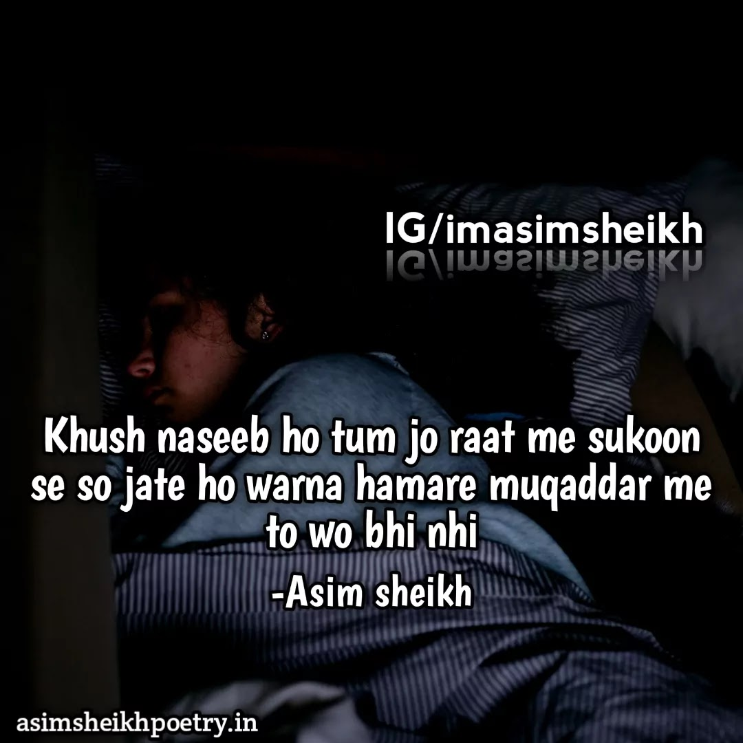Sad Shayari | Latest Dard Status in Hindi - asimsheikhpoetry.in