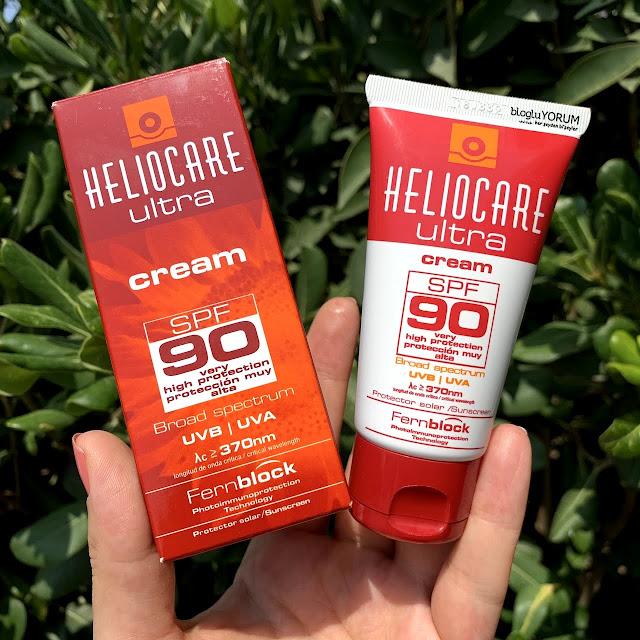 Heliocare Ultra Cream SPF 90 güneş kremi incelemesi