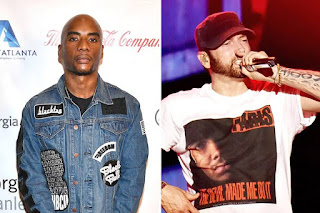 Charlamagne Tha God Appears as Judge On Eminem & Nick Cannon Rap Battle and Awards Nick