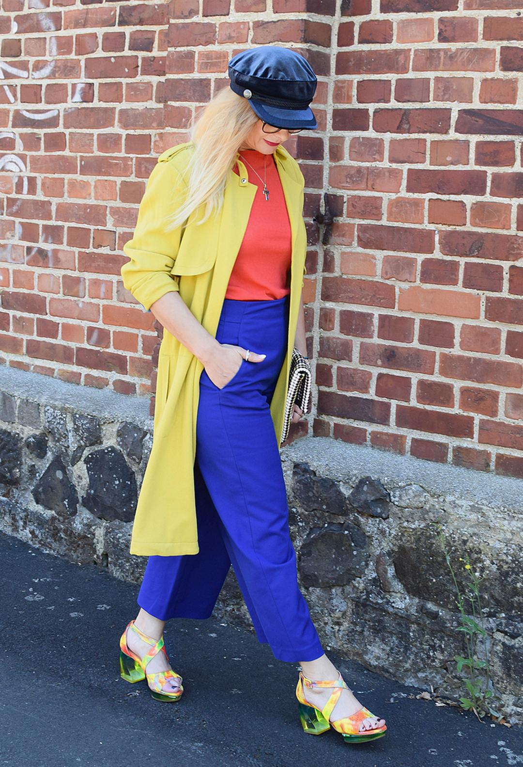 Tipps für ein Outfit in Color Blocking, Colorblocking Modeblogger
