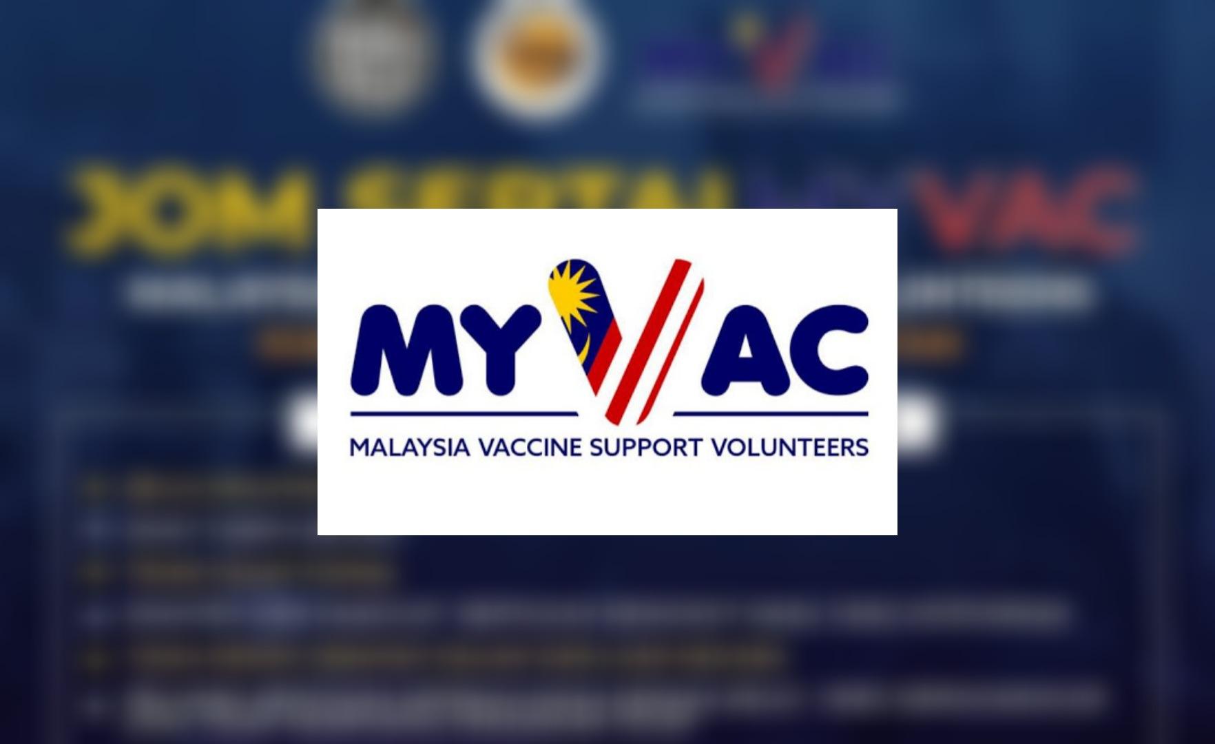 Cara Daftar Sukarelawan MyVac 2021 Online (Semakan Status)