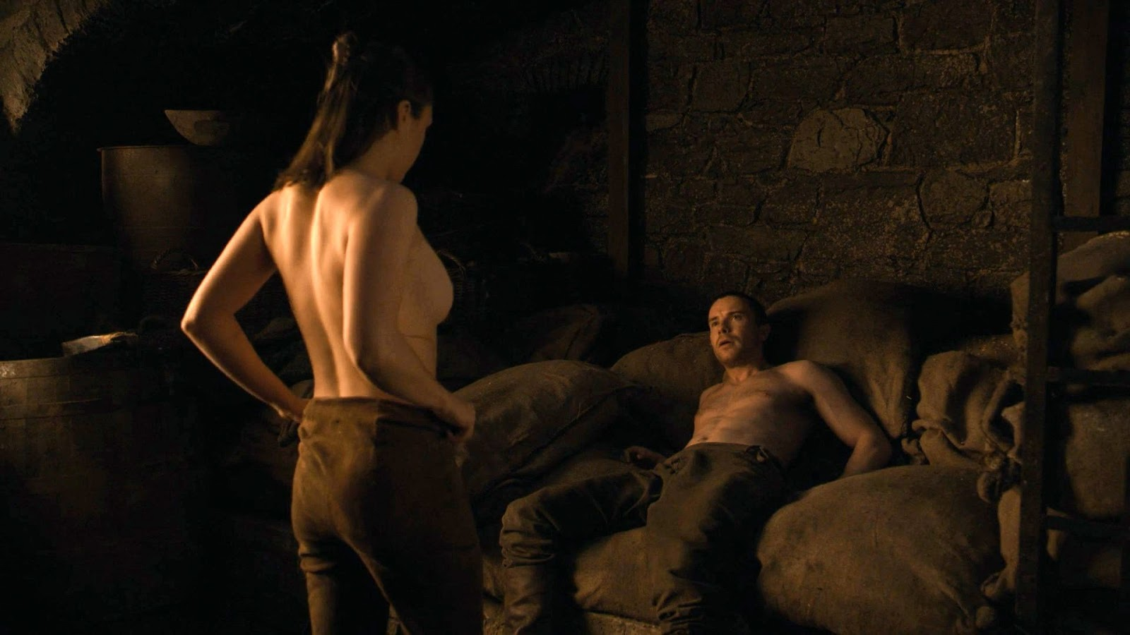 Arya and Gendry's Game of Thrones Sex Scene
