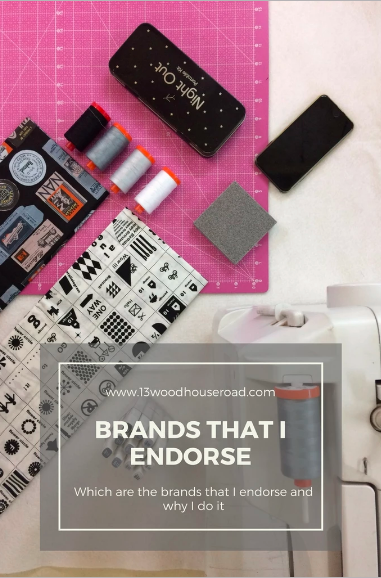 Brands that I endorse