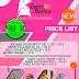 Template Desain Vector Price List Butik Keren 2016