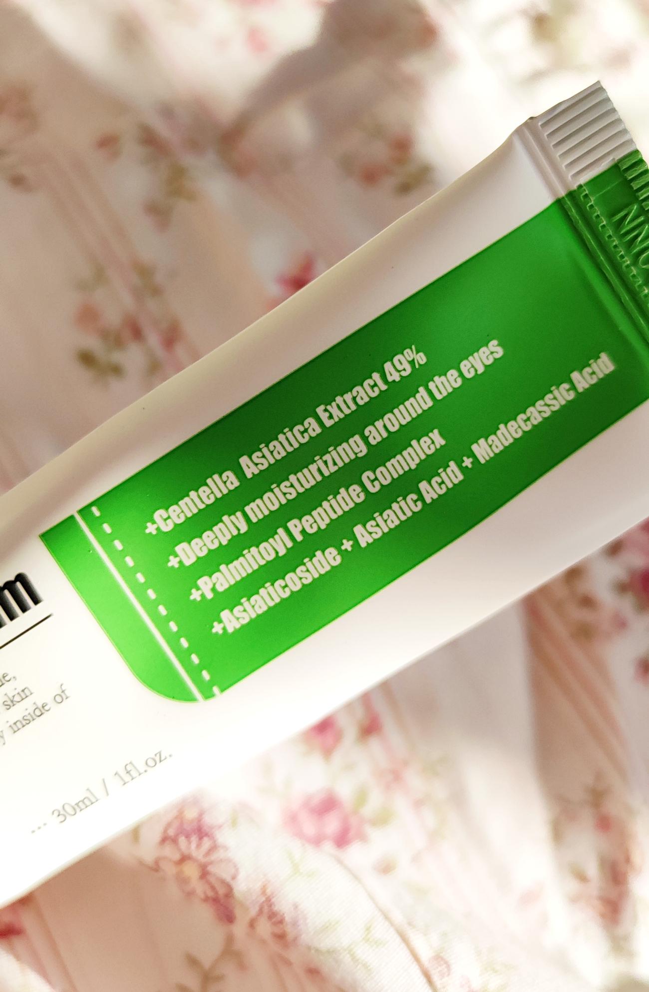 Purito Centella Green Level očný krém recenzia