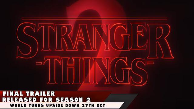 stranger things 2 trailer