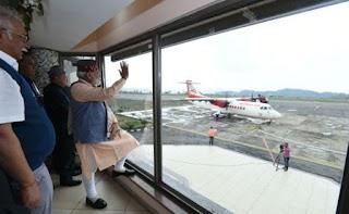 PM launched UDAN(Ude Desh Ka Aam Nagrik) Scheme.