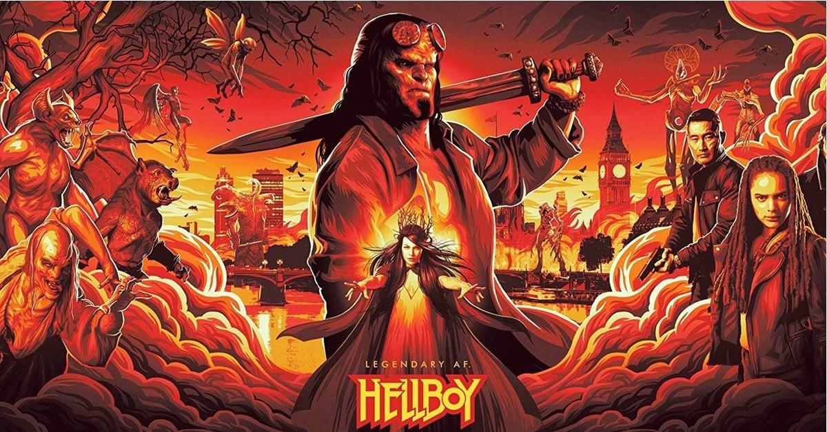 Quỷ Đỏ - Hellboy (2019)