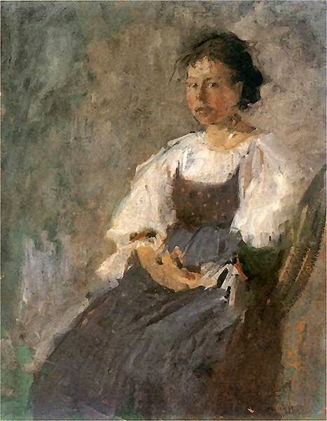 Olga Boznańska - Włoszka