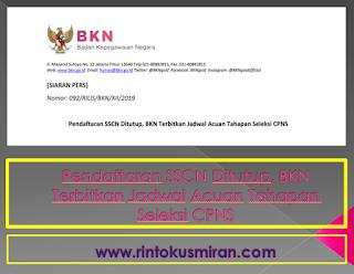 Pendaftaran SSCN Ditutup, BKN Terbitkan Jadwal Acuan Tahapan Seleksi CPNS