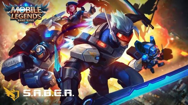 Download Script Skin S.A.B.E.R Squad Mobile Legends