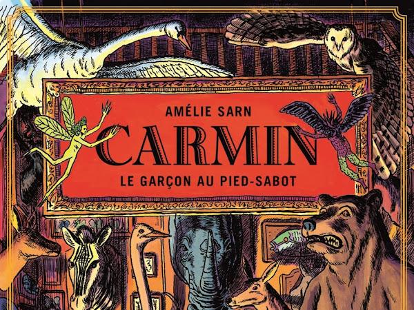 Carmin #1 Le garçon au pied-sabot de Amélie Sarn