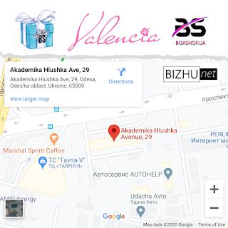 Boxshop on Google Maps