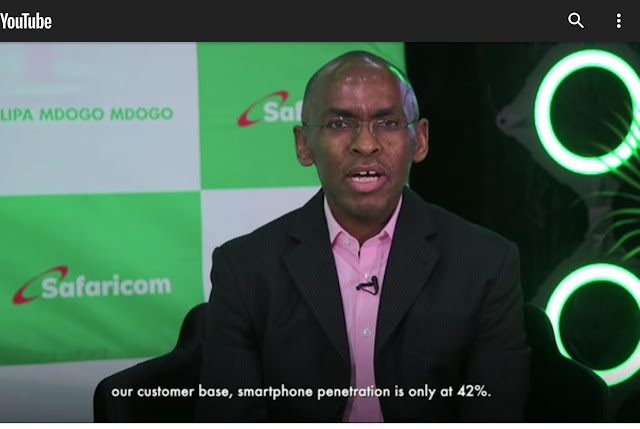 Safaricom PLC CEO Peter Ndegwa