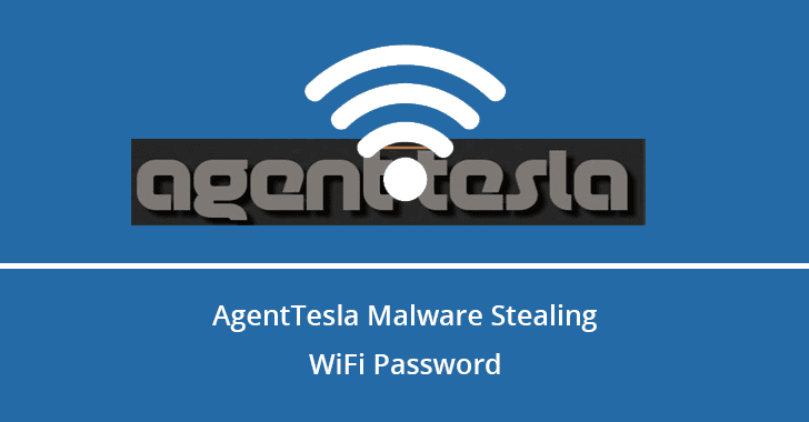 Hackers Stealing WiFi Password Using New AgentTesla Malware