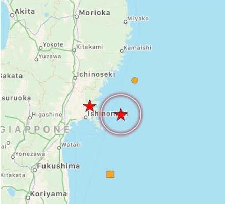 Σεισμός μεγέθους 7,2 βαθμών της κλίμακας ρίχτερ στην βορειοανατολική Ιαπωνία