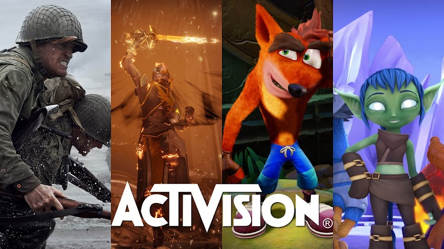 activision games 2017