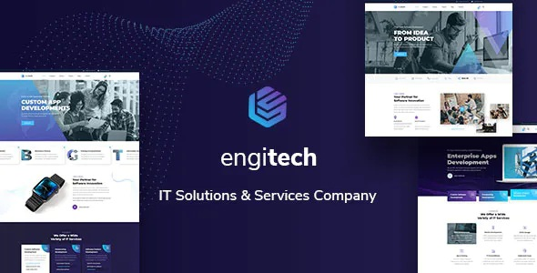 Best IT Solutions & Services Template
