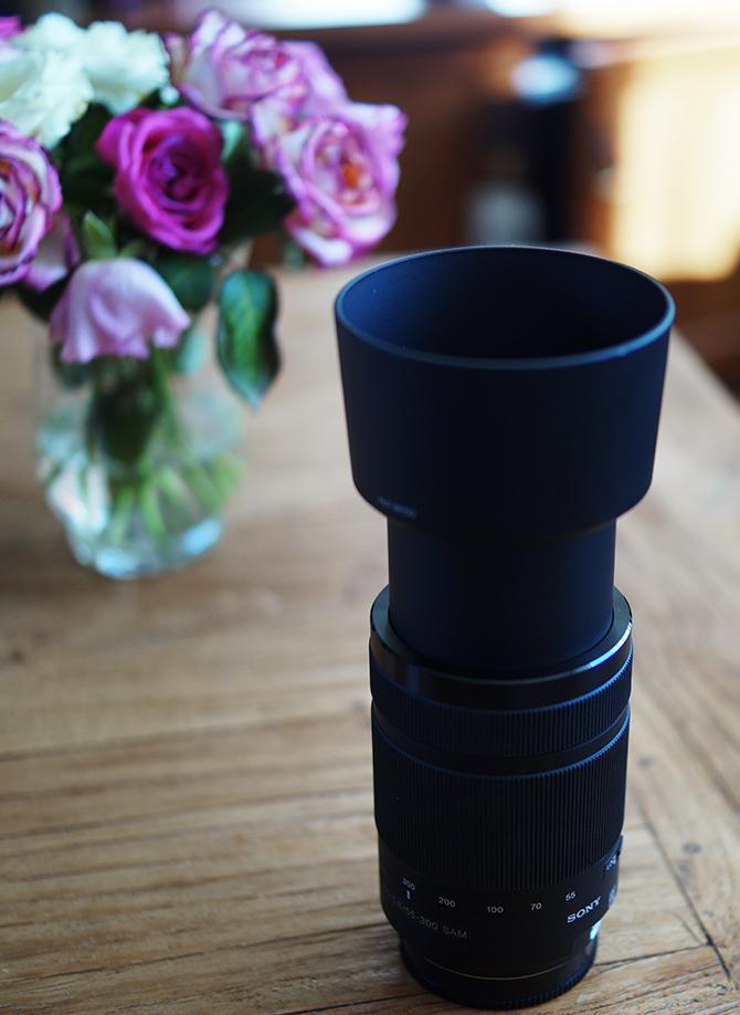 Sony 55-300mm lens