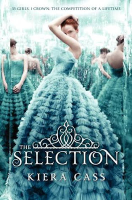 The Selection (The Selection #1) by Kiera Cass. A dystopian fantasy novel in which young girls must compete to marry a Prince. Read this book if you like the idea of a Hunger Games of marriage. Via Diamonds in the Library.