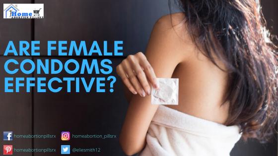 Sexy Women Holding Female Condom